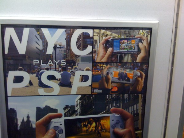 NYC plays PSP
